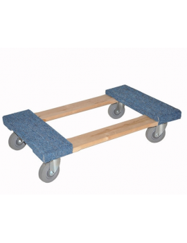 """Moving Dolly 4"""" Carpet Top"""